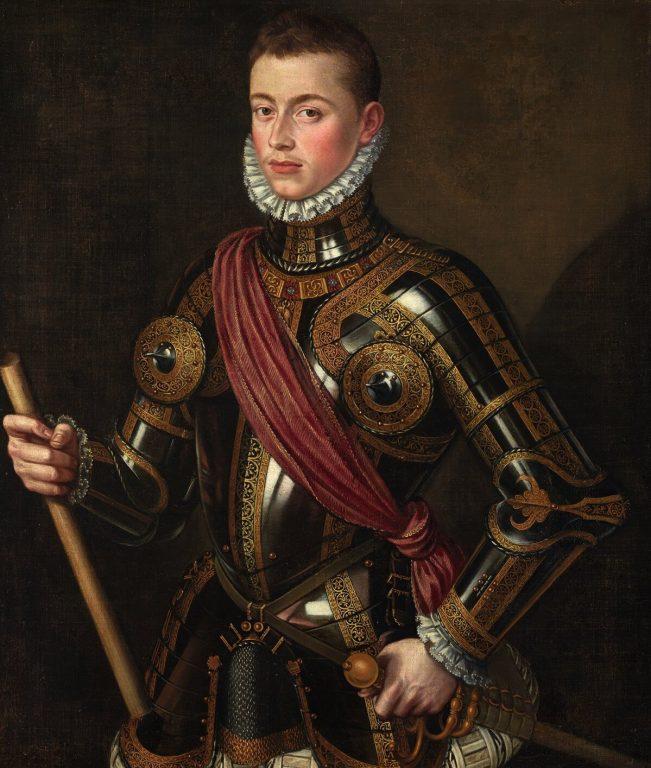 Don Juan de Austria by Alonso Sánchez Coello