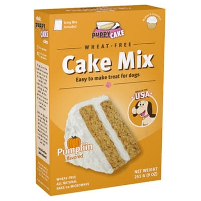 Puppy Cake Pumpkin Spice Dog Cake Mix With Frosting Wheat