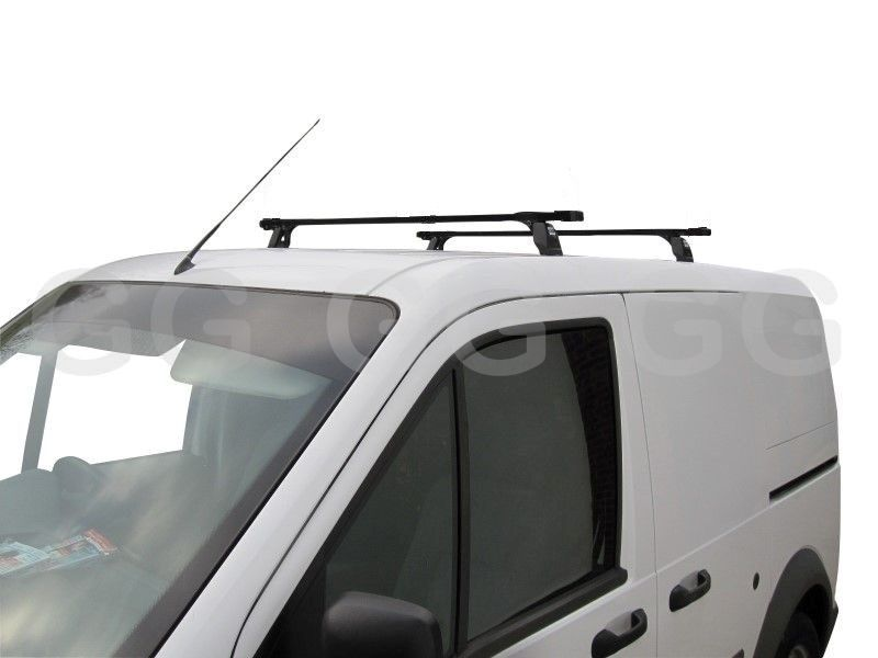 heavy duty ladder roof rack bars ford transit connect 2002 2013