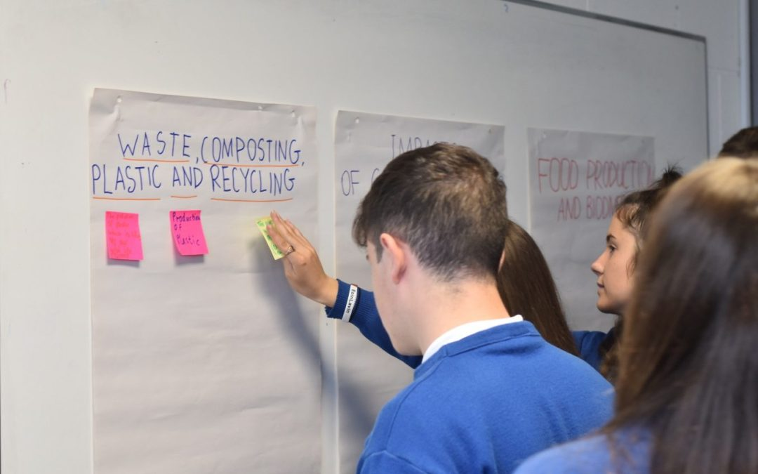 Climate Action Days with Boyle TY students