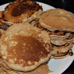 """Scratchy"" Peachy Oatmeal Pancakes: The Kids Cook Monday"