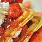 Buttermilk-Cornmeal Waffles