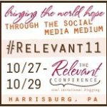 And the #Relevant11 Ticket Winner is…