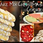 3 Christmas Cookie Recipes Using Cake Mixes