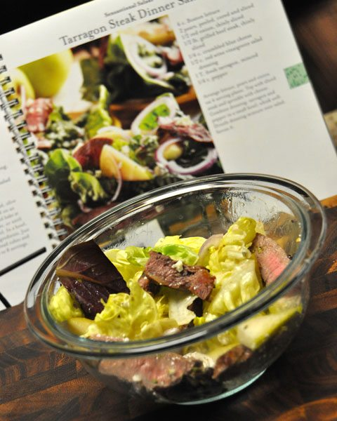 Tarragon Steak Dinner Salad Recipe