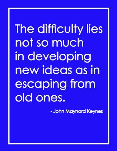 new ideas