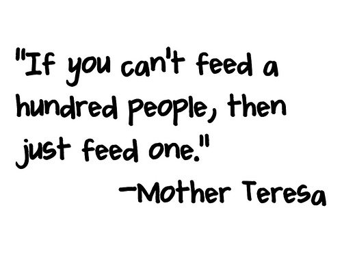 feed one