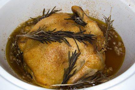 crock pot roasted chicken