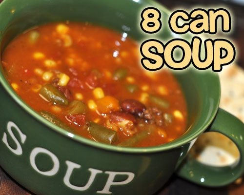 8 Can Soup