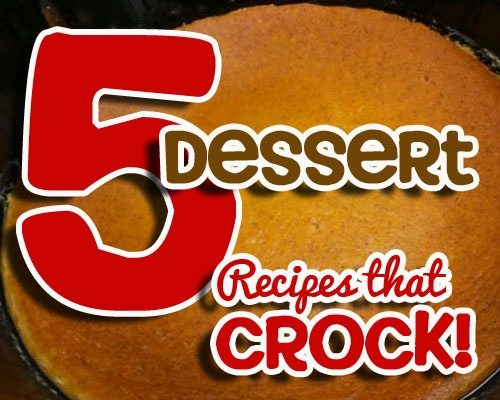 Dessert Recipes that cROCK copy