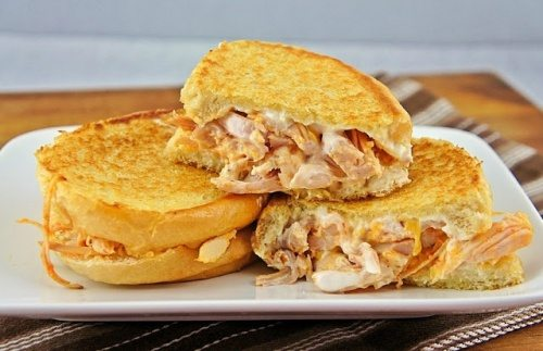 Buffalo Chicken Grilled Chese