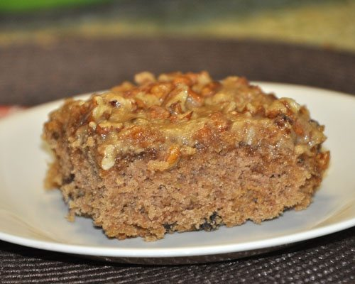 Oatmeal Raisin Cake