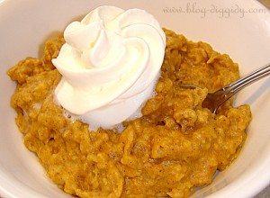 Pumpkin Pie Crock Pot Oatmeal