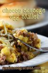 Cheesy Sausage Egg Skillet