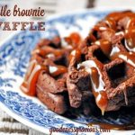 Turtle Brownie Waffle