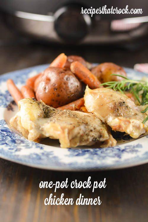 Crockpot Chicken Dinner