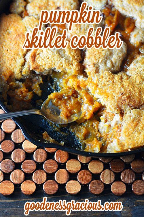 Pumpkin Pie Cobbler
