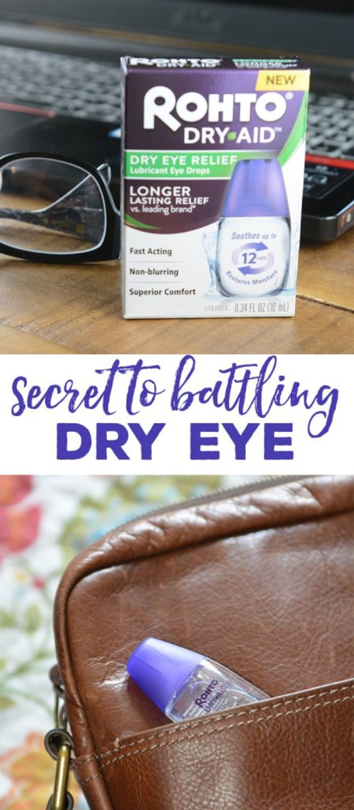 Do you spend hours online or enjoy hobbies that can be hard on your eyes like reading or art? We just may have found the secret to fighting dry eye while going about your day and doing what you love.