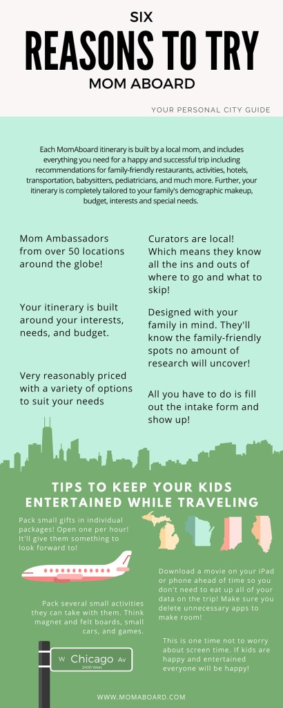 Family vacations are often stressful, but Mom Aboard's mom local ambassadors makes it easy for all interests and any budget. All you need to do is show up!