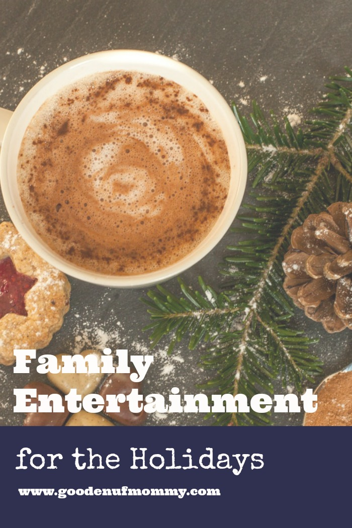 Family entertainment ideas for the Christmas holidays your whole family will enjoy! You'll be sure to find new family activities you haven't tried before!