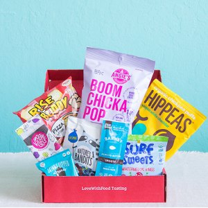 Love with Food by SnackNation Tasting Free Box