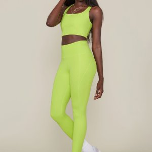 Lime Girlfriend Collective Compression Leggings