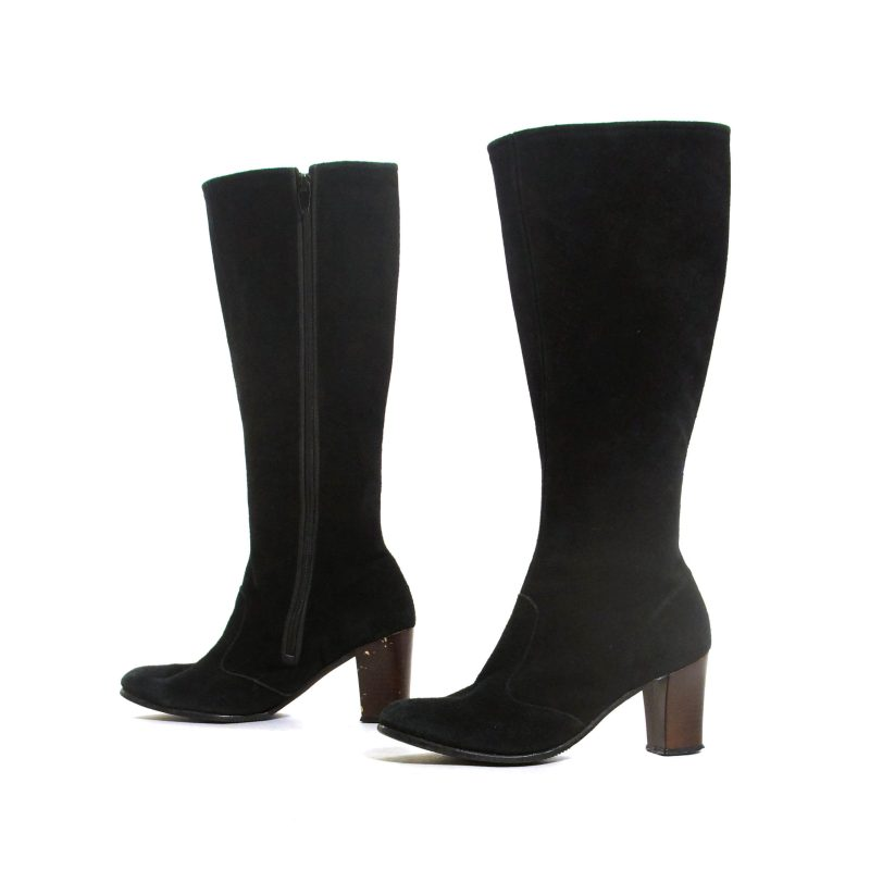 70s Suede GoGo Boots