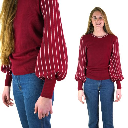 Vintage 70s Bell Sleeve Sweater Women's Size Extra Small
