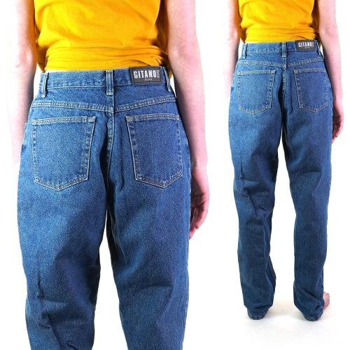 Gitano Tapered Loose Fit Jeans Vintage 80s 27 in Waist