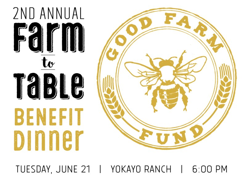 GFF Benefit Dinner at Yokayo Ranch