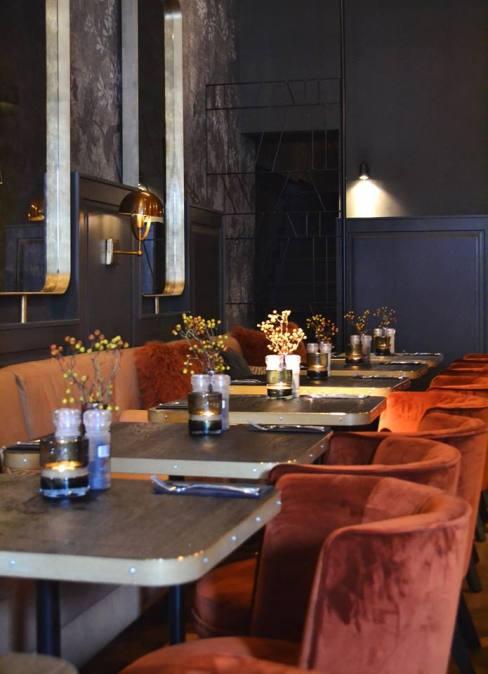 Interieur restaurant Black Amsterdam