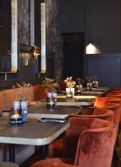 Interieur restaurant Black Amsterdam