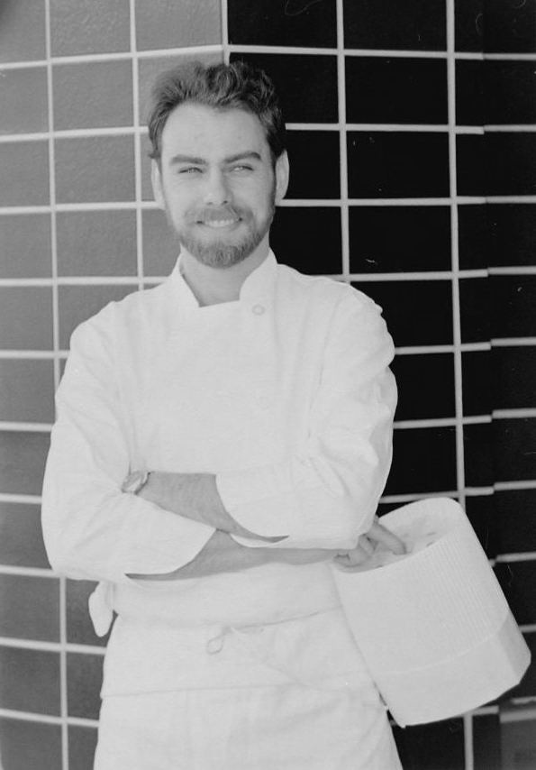 Chef Chris McDonald back in 1984.