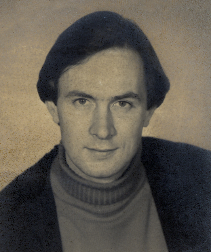 James Morris in 1975. This picture was taken for his Canadian Citizenship card around the time he was working at Winston's.