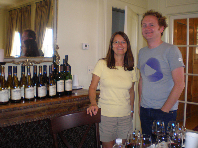 GFR's Jamie Drummond with Margo back in 2010. How time flies!