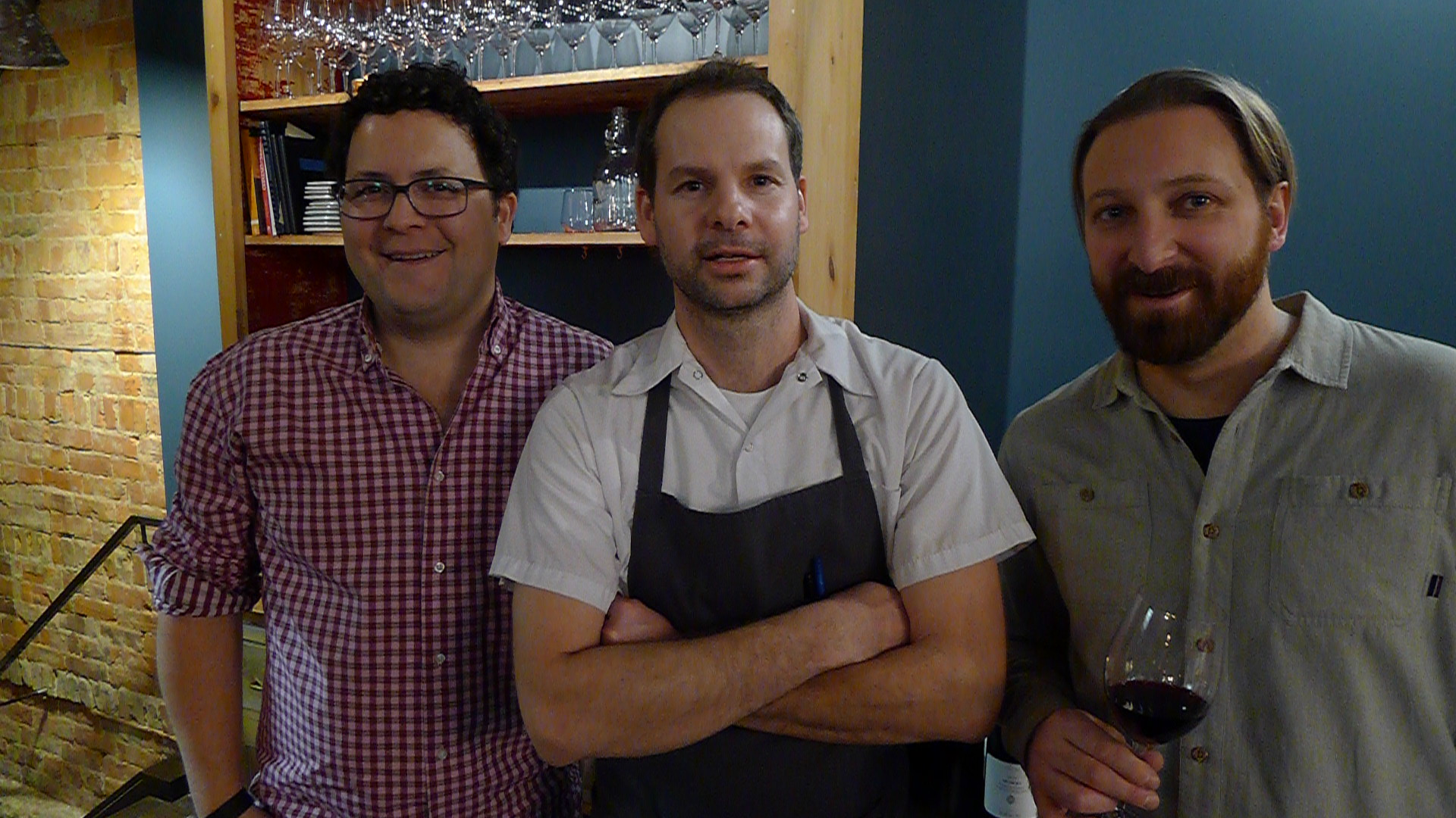 Mark Cuff, Justin Cournoyer , and Alec Coyer at Actinolite