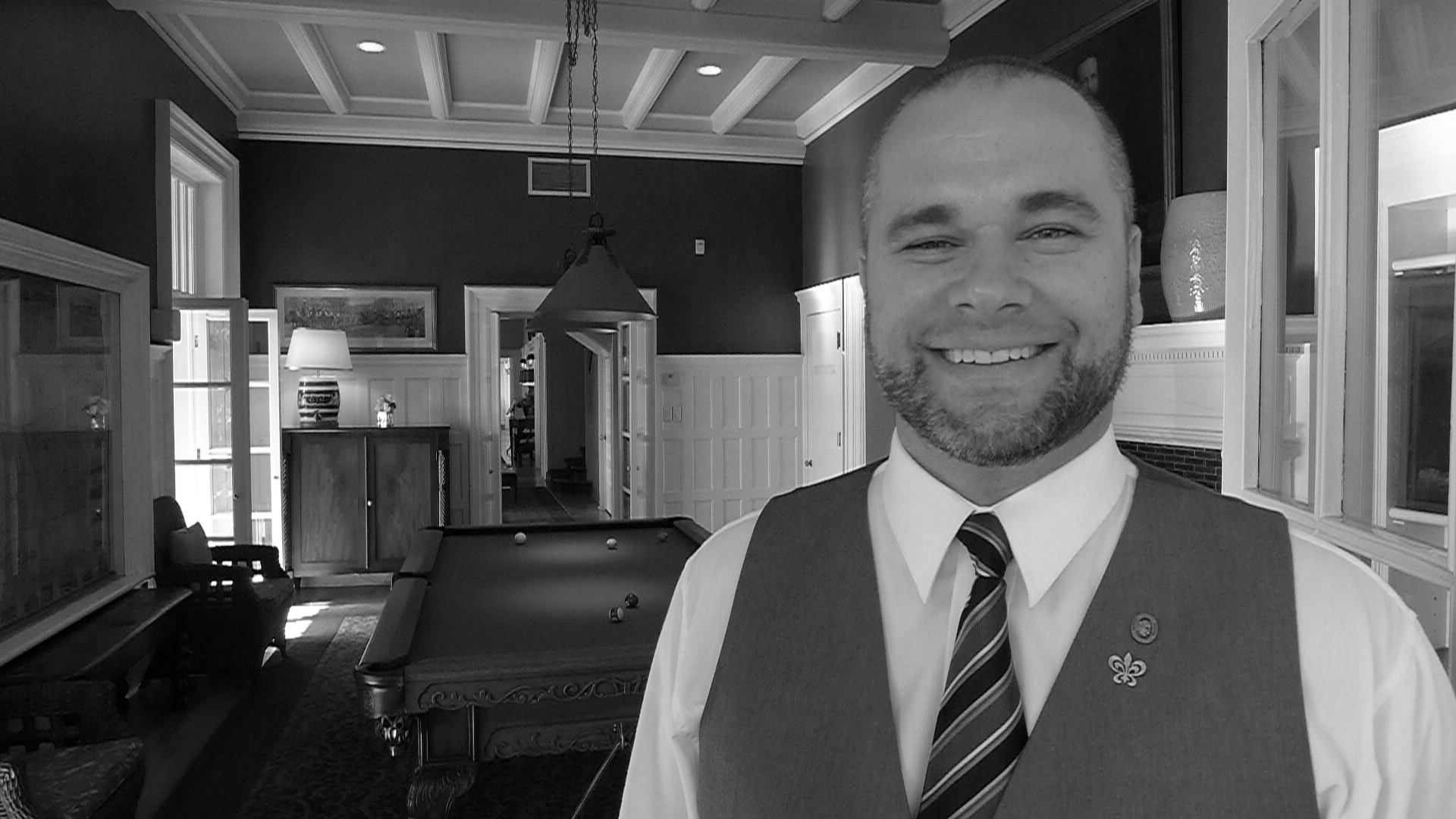 Sommelier Jeremy Elliot has just taken on a position at the prestigious Langdon Hall.