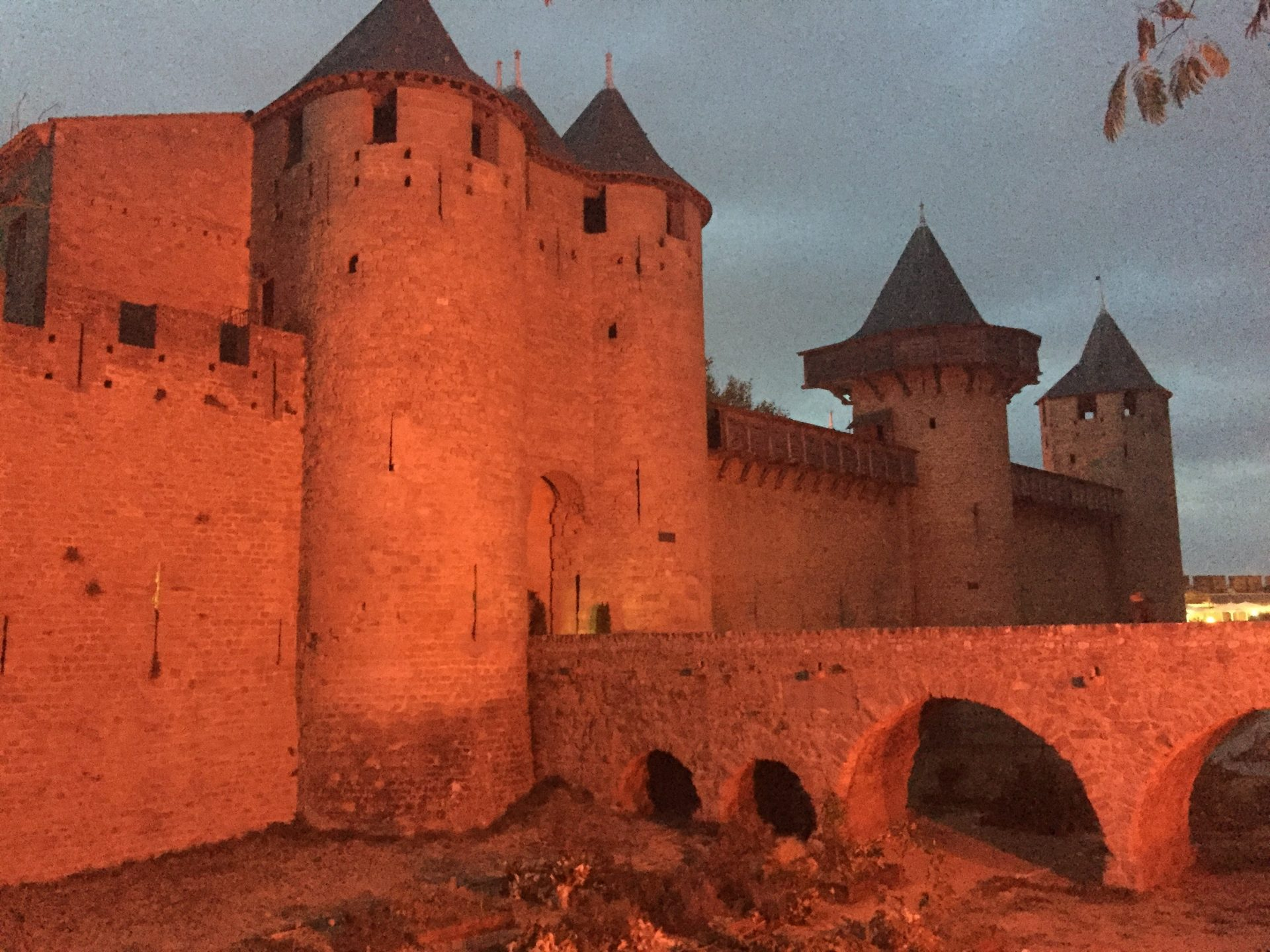 """Restored in 1853 by the architect Eugène Viollet-le-Duc, Château Comtal has a strong claim to be called a """"Cathar Castle"""". When the Catholic Crusader army arrived in 1209 they first attacked Raymond-Roger Trencavel's castrum at Bèziers and then moved on to his main stronghold at Carcassonne."""