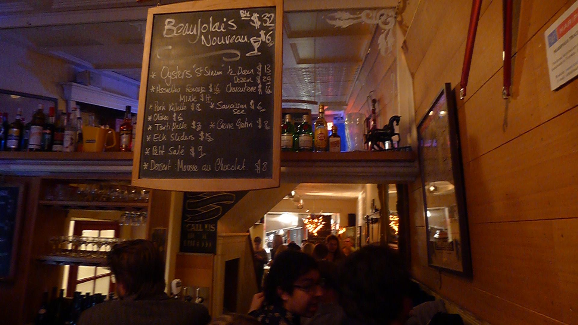 A decidedly Gallic celebration at Côte de Boeuf.