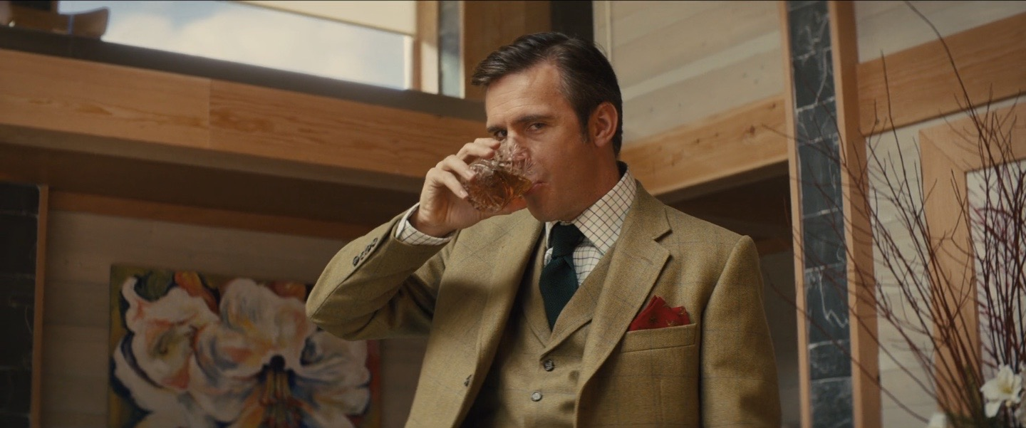 The Dalmore makes a guest appearance in Kingsman : Secret Service, a jolly good film that understood a good whisky.