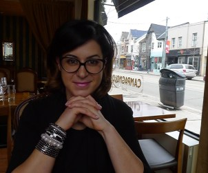 Lisa Anselmi chatted with us about her family's wines before a delicious lunch at Toronto's Campagnolo.