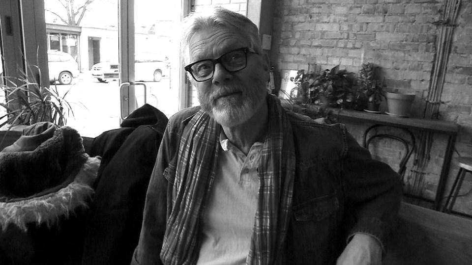 Old Bastard Sommelier Peter Boyd having fun at Toronto's Paris Paris.