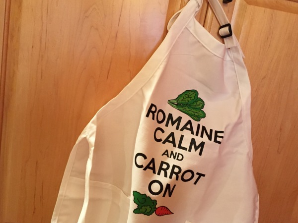 Romaine calm and carrot on