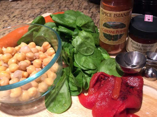 ingredients for skillet supper