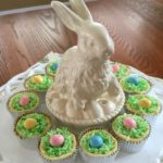 Mini Cheesecake Easter Baskets