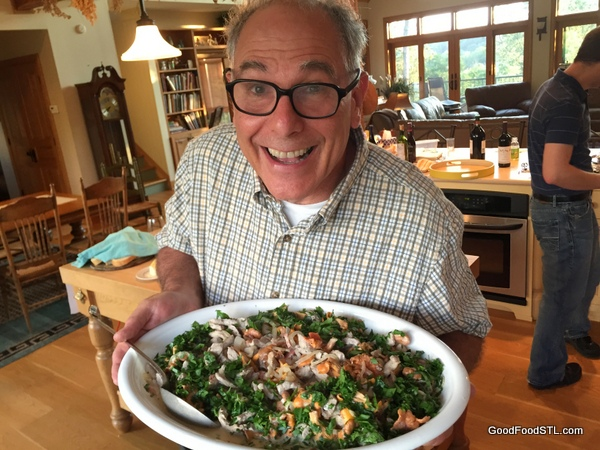 ken gilberg and chanterelle mushroom dish