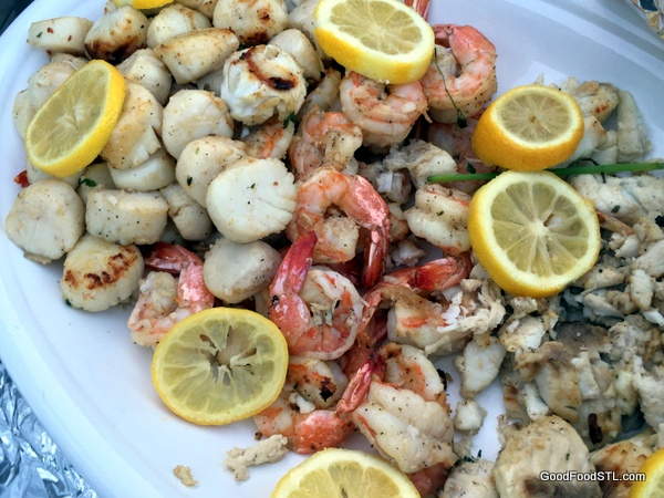 Mixed Seafood Grill on the summer menu