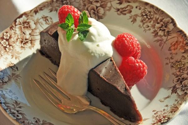 Chocolate Tart from something elegant catering