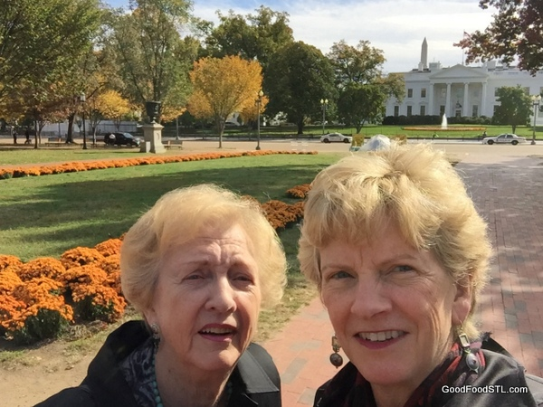 Robin Jean white house lafayette park *