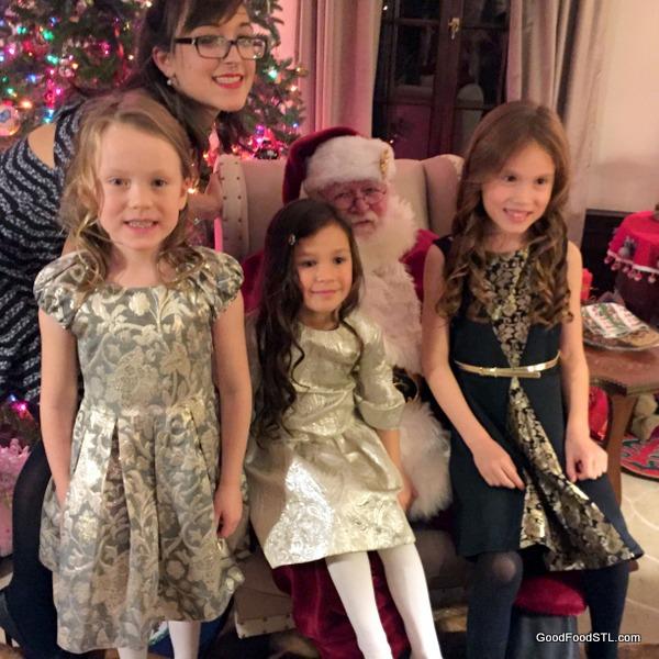 santa girls christmas